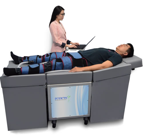 NCP-5 ECP Unit Operator and patient